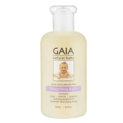 gaia natural baby sleeptime 250ml