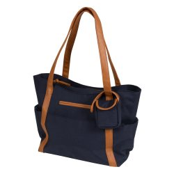 92046 Boho Denim Nappy Bag