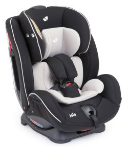 Joie Curve Car Seat  #Caviar 3 quarter With Insert