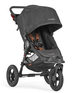 2050969 baby jogger city elite black knit angle 1