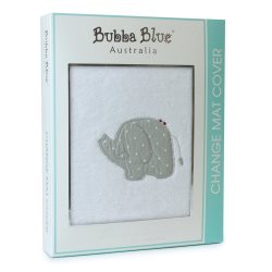10 petit elephant change mat cover