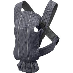 Baby Carrier Mini   Anthracite, Mesh (16)