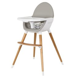 childcare Pod Timber Highchair   Natural copy