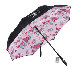 all4ella inside out umbrella pink floral