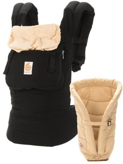 ergobaby original baby carrier bundle of joy camel black