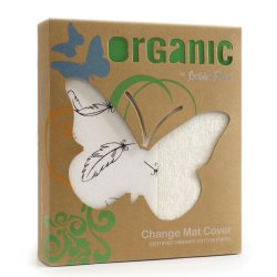 6 Organic Feathers change mat cover