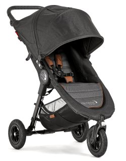 2050275 baby jogger city mini gt black knit angle 1