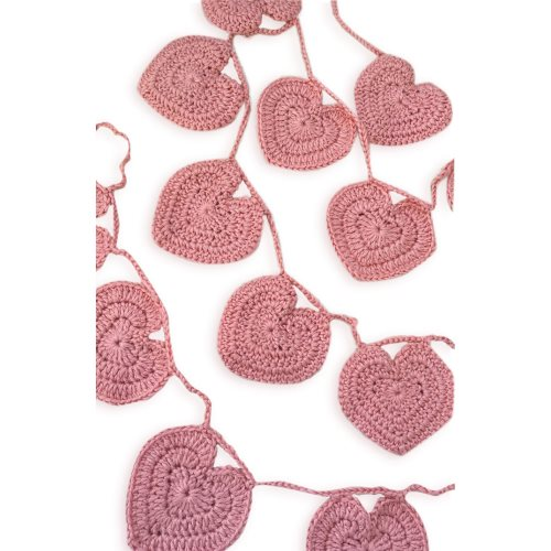 obdesigns bunting hearts pink
