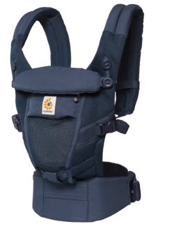 ergobaby adapt carrier cool air deep blue