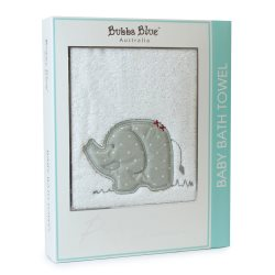 6 petit elephant bath towel