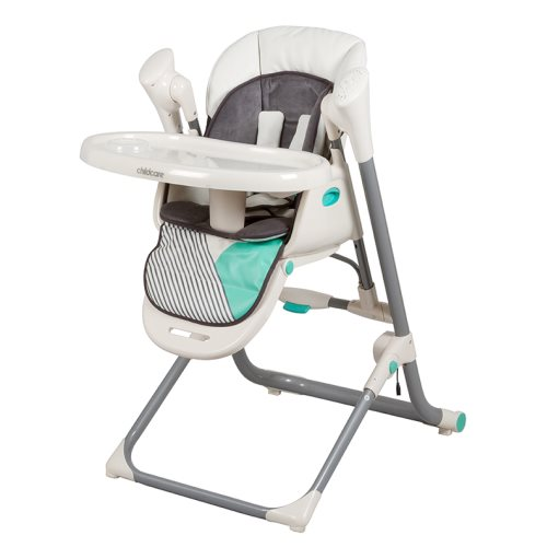 childcare  Argent 2in1 Swing Highchair   Aztec Teal