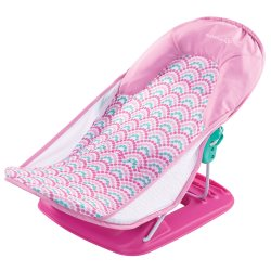 summer infant Deluxe Baby Bather   Pink Bubble copy