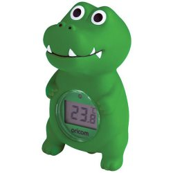 oricom croc bath and room thermometer