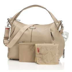 Storksak catherine almond nappy bag1
