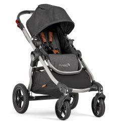 2050972 baby jogger city select black knit angle 1