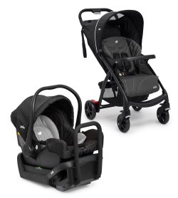 AU 20150518 muze Charcoal Travel System with Juva Infant Seat