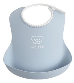 Baby Bib   Powder Blue (1)