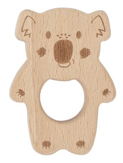 Kippins BANJO BEECHWOOD TEETHING TOY