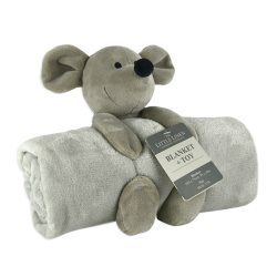 The little linen company Plushtoy+Blanket mouse