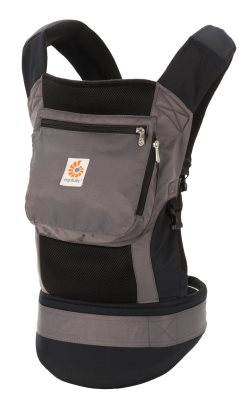 ergobaby performance baby carrier charcoal