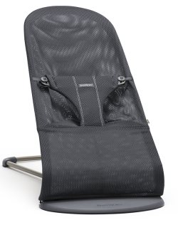 babybjorn Bouncer Bliss Air Anthracite Mesh