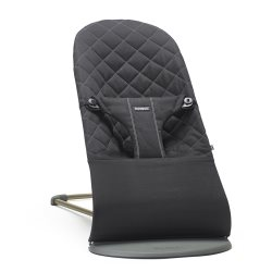 Bouncer Bliss   Black, Cotton