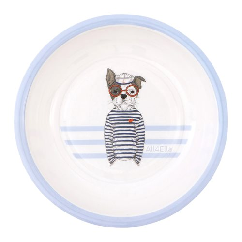 all4ella melamine bowl blue