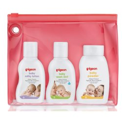 Pigeon Baby Toiletries Travel Set Sakura