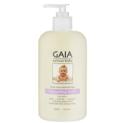 gaia natural baby sleeptime 500ml