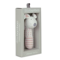 little bamboo Crochet Rattle DallastheDog