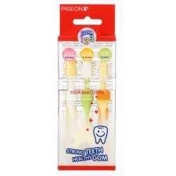 PIGEON Toothbrush Set 123 Pack copy