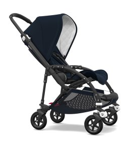 bugaboo bee black frame navy