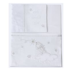 bubba blue wish upon a star bassinet sheet set1
