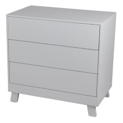 bebecare Casa 3 Drawer Chest   Grey