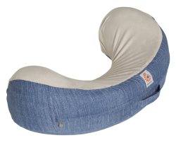 ergobaby nursing pillow vintage blue