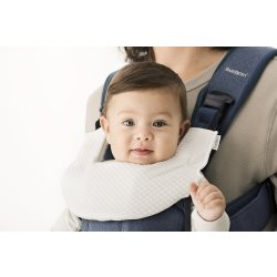 Teething Bib for Baby Carrier One   White (6)