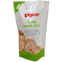 Pigeon Baby Wash 2in1 900ml Refill