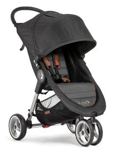 2050322 baby jogger city mini black knit angle 1