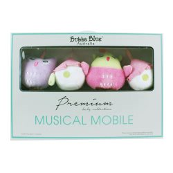 bubba blue girl baby owl musical mobile