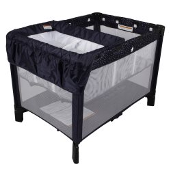 childcare  Trio Travel Cot   In The Navy (Changer) copy