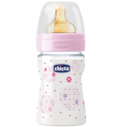 chicco Welbeing 150ml Latex pink