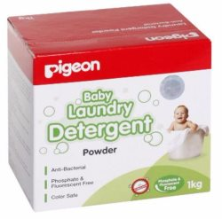 pigeon baby laundry detergent powder1kg side