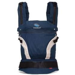 manduca baby carrier classic navy front