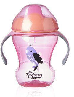 248110 TT CTN Weaning Sippee Cup Pink
