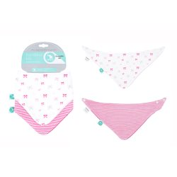all4ella bandana bib bow