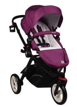 MILIKAI CO Pilot PURPLE RAIN PRAM 3