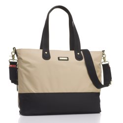 Storksak Tote Champagne and Black
