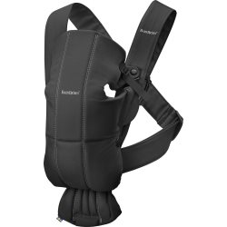 Baby Carrier Mini   Black, Cotton (4)