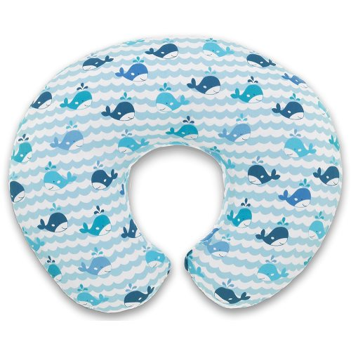chicco Boppy Pillow Blue Whales