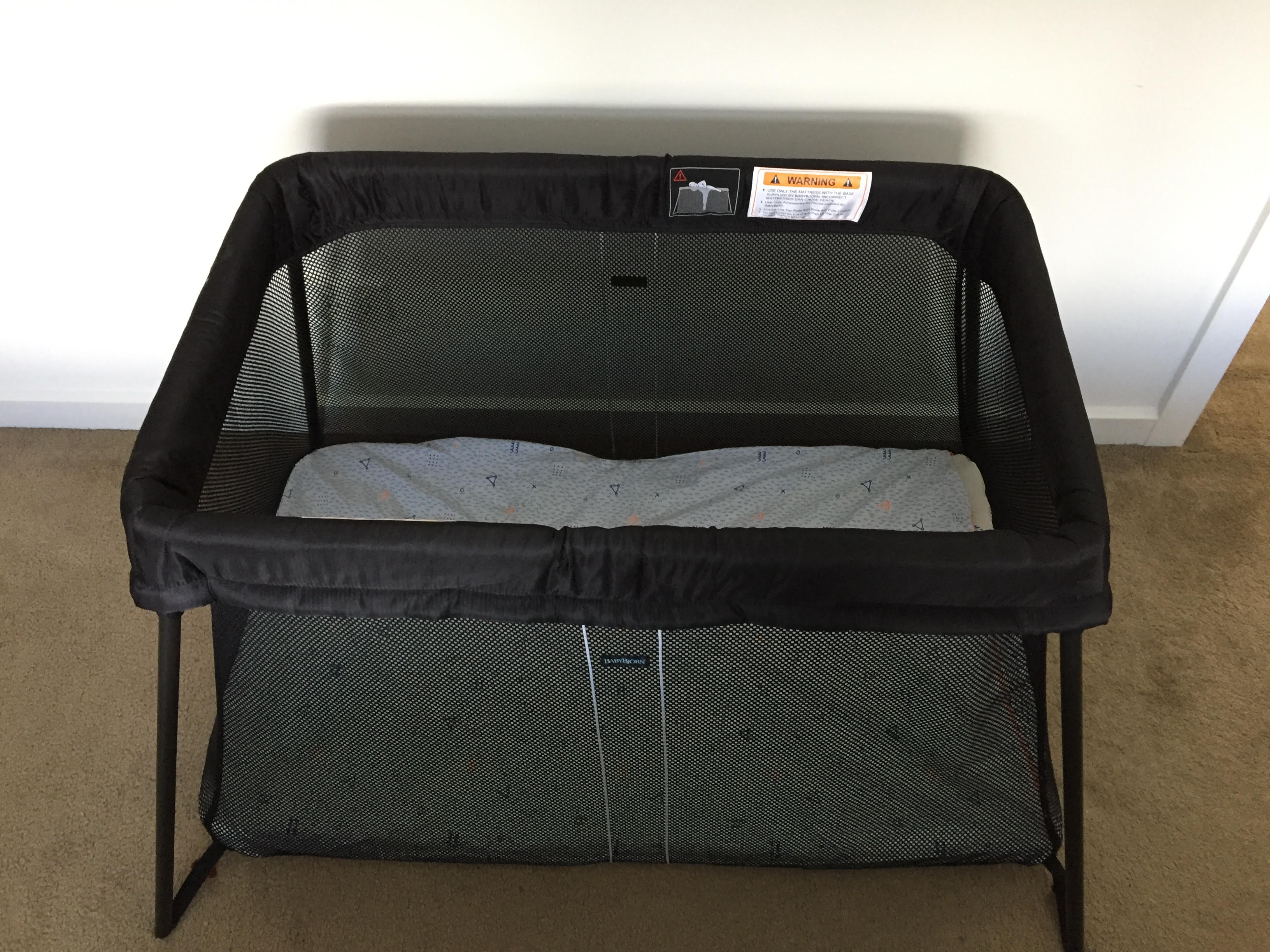 Babybjorn Travel Cot Light The Baby Industry 174